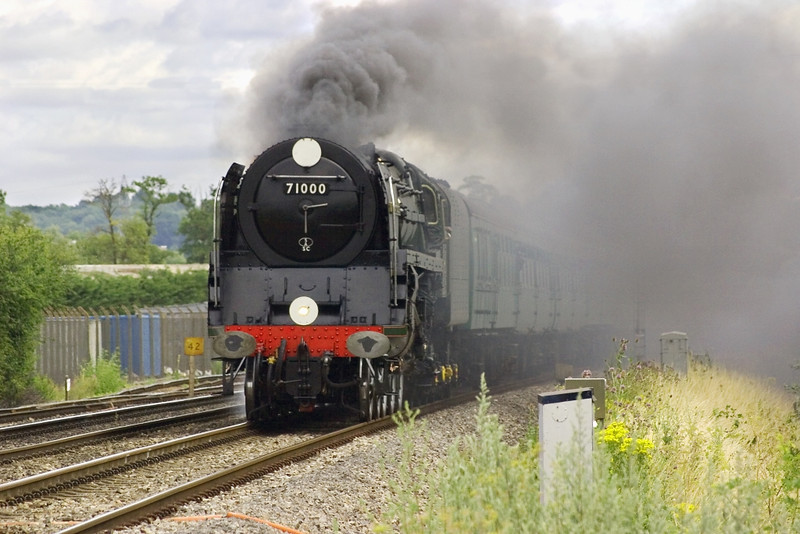 20th Jul 05:  7100 Duke of Gloucester,1Z96,,Victoria - Bristol   Theale