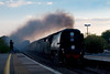 11th Jul 07: Tangmere roars up the main line through Twyford with the returning VSOE from Bristol to Victoria