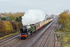 "26th Nov 11:  Passing White Waltham is 60163 ""Tornado"" working 1Z31 the day's Cathex to Shrewsbury from Paddington."