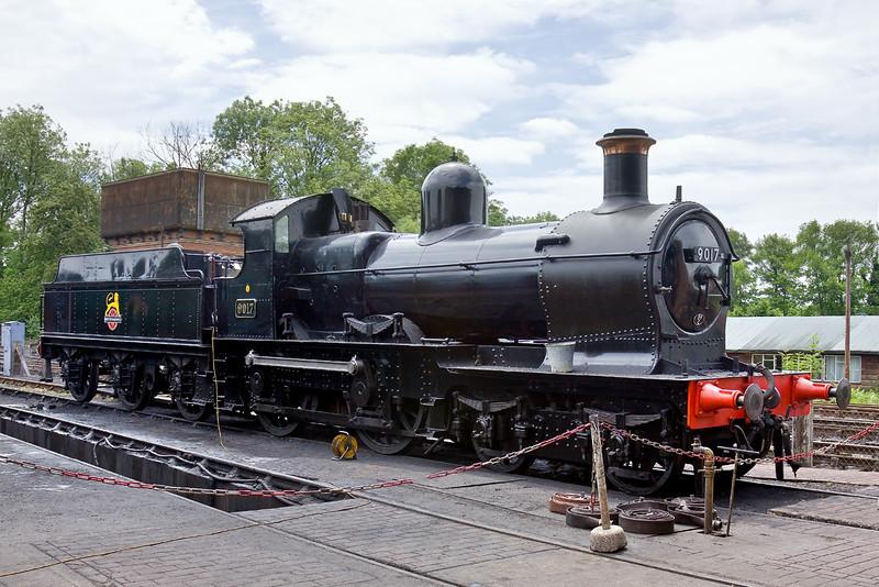 17th June 09: GWR Dukedog 9017