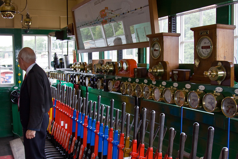 17th June 09:  Horsted Keynes Signal Box