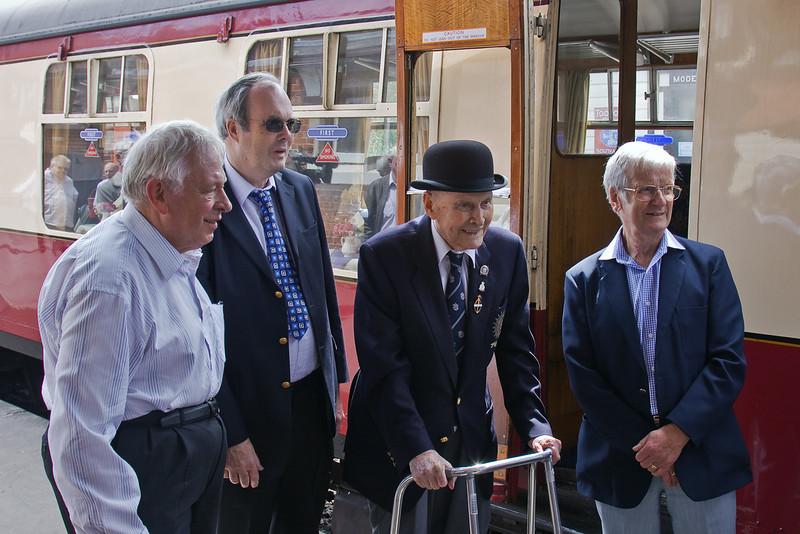 17th June 09: The first chairman was Bernard Holden, still going strong at 101 !
