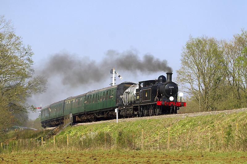 15th Apr 07: 32473 leaving Horsted Keynes