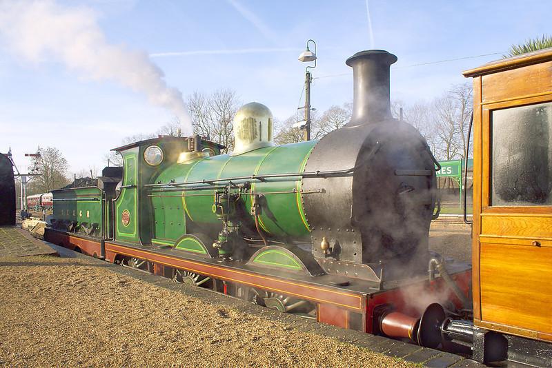 4th Feb 07: Victorian Splendour at Horsted Keynes