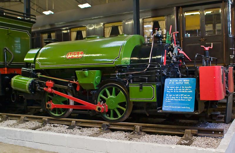 30th Sep 06:  Ex Beckton Gas Works Saddle tank