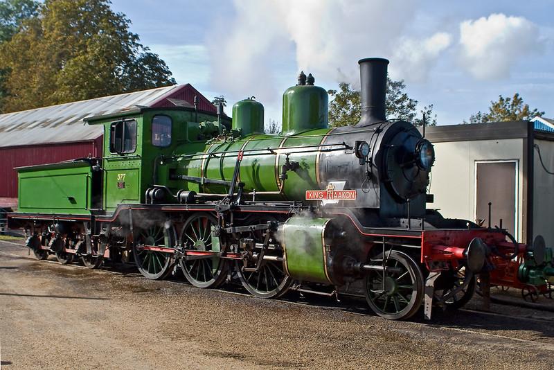 30th Sep 06:  Norweigen Railway 2-6-0 'King Haakon 7'