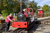 30th Sep 06:  10 1/2 inch gauge 'Alan Bloom' is turned ready for it's next trip on the Garden Line