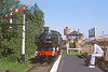 2nd Jun 85:  During the GWR 150 Celebrations 9466 runs into Didcot Halt with a short freight