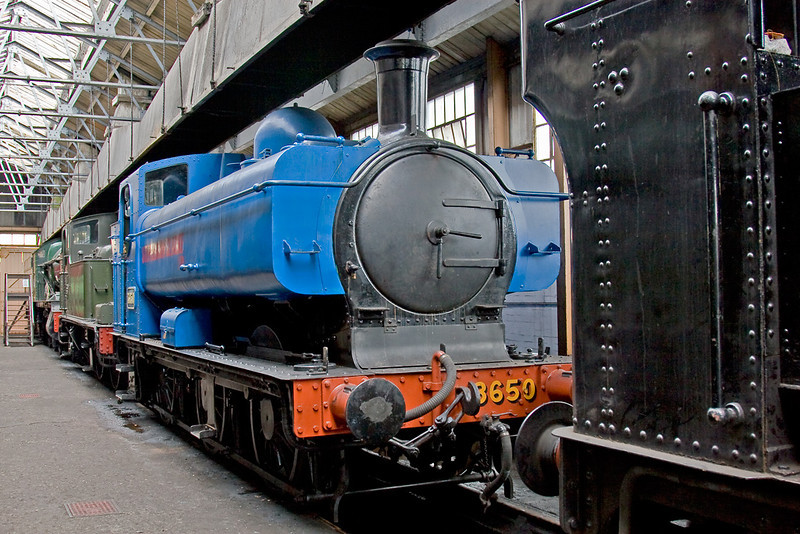 10th Aug 08:  After 20 years effort 3650 is now completed.  Painted in the blue livery of its last Coal Board owner it will later be repainted into GWR green