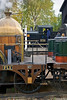 30th Oct 11:  3738 spied across Fire Fly's footplate that was unusualy not stabled in the Transfer Shed