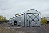 30th Oct 11:  The newly built Railmotor shed