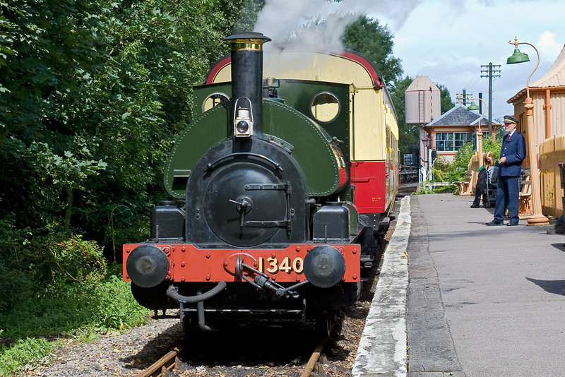 10th Aug 08:  1340 'Trojan, waits prior to working the next shuttle to the Transfer Shed