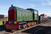 25th Mar 2017:  This light weight shunter as built by Hunslet of Leaads in 1957.  It was never part on the Brittish Railways fold but hase proved to be very useful to the society