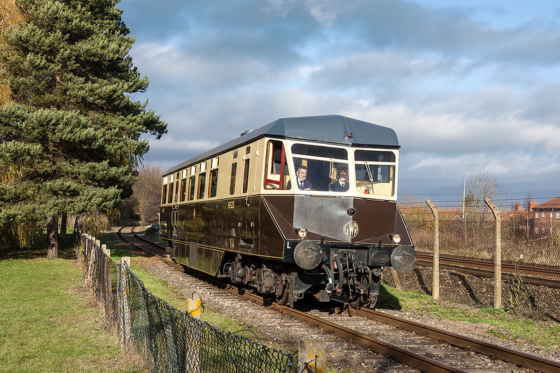 25th Nov 12:  GWR No 22 fills in on the Demonstation Line