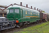 30th Oct 11:  The Swiss built Brown Boverie Gas Turbine 18000 is now resident at Didcot