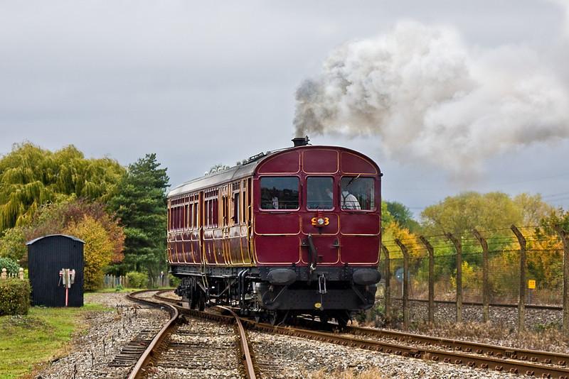 30th Oct 11:   Railmotor 93 on the main Demonstration Line