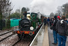 23rd Mar 13:  The 10.45 from Sheffield Park has arrived at East Grinstead