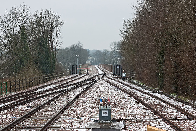 23rd Mar 13:  The viaduct from the Platform end at East Grinstead