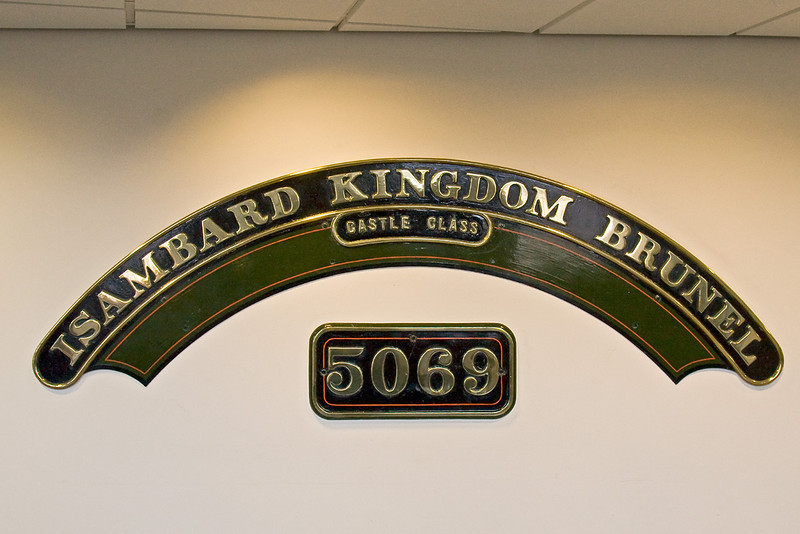 16th Aug 08: The best known Castle name plate