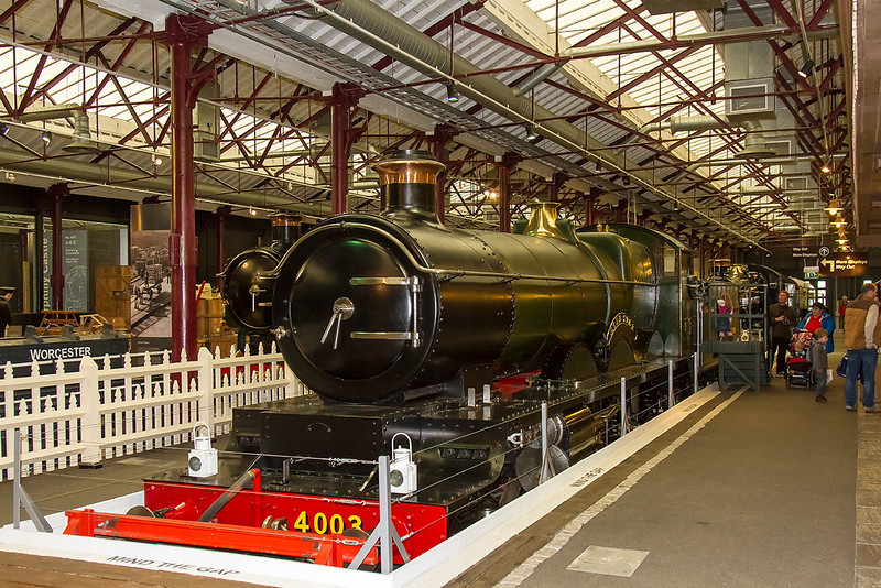 20th Feb 14:  4003 ' Lode Sta'r now at the Swindon Museum