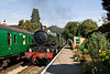 21st Sep 08: 5029 'Nunney Castle' runs into M4M with the 13.58 from Alton