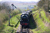 12th Apr 05:  45231 Entering Ropley