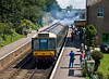 7th Jul 07:  The class 177 DMU returns to Arlesford with the shuttle service