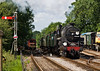 7th Jul 07:  A dirty 73096 climbs the last few yards to Meadsted & Four Marks
