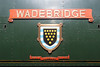 30th Jun 13:  The name plate and crest on 34007 'Wadebridge'