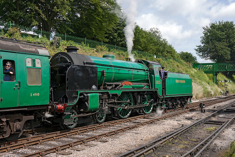 30th Jun 13:  30925 'Cheltenham' departing from Ropley