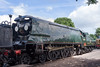 30th June 13:  Probably the most famous of all the Bullied Pacifics is 34051 'Winston Churchill' as it was used to power his funeral train.  Currently, I believe, at Ropley to receive a cosmetic overhaul