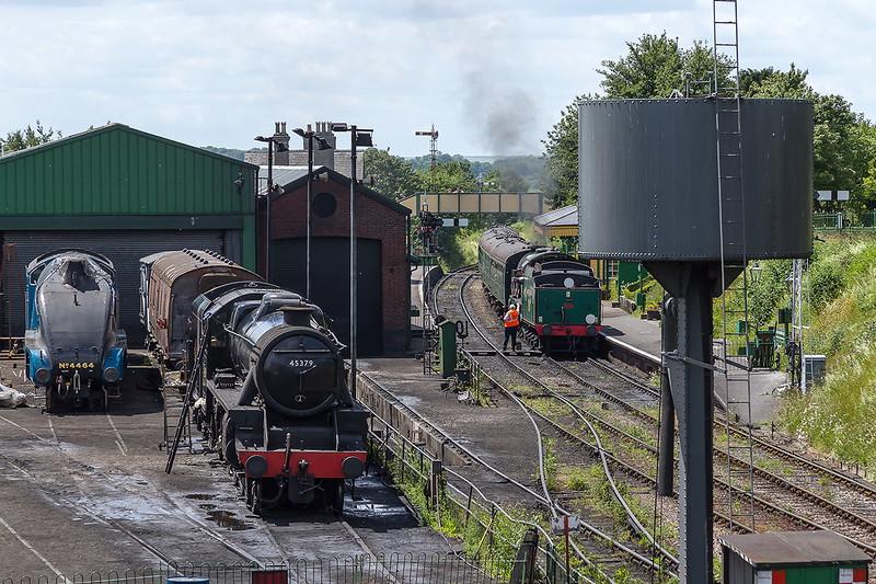 27th Jun 2015:  Ropley from Hogwarts bridge