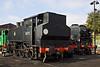 27th Sep 09: USA 0-6-0T 30075 is newly arrived at Ropley