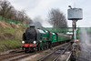 14th Apr 13:  850 Lord Nelson arrives at Ropley.