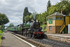 29th Aug 11:  Standard 5 73096 draws to a halt at Medstead and Four Marks