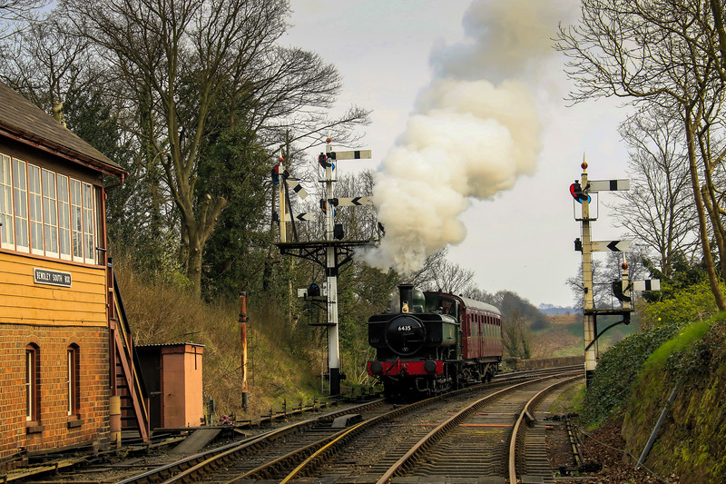 6435 GWR Pannier Tank - 30742 Charters - Severn Valley Railway (March 2014)