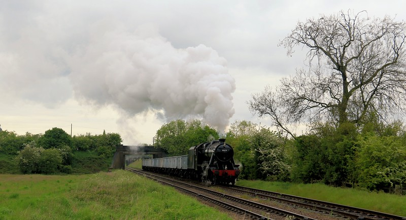 48624 LMS Stanier 8F - Great Central Railway (May 2016)