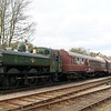 6412 GWR 6400 Class - South Devon Railway Spring Gala (February 2016)