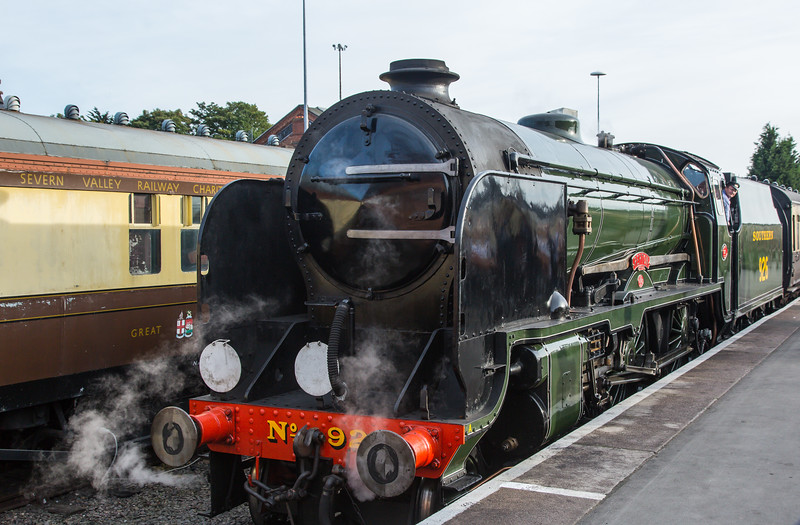 926 Repton - Southern Railway SR V Class Schools - Severn Valley Railway (September 2017)