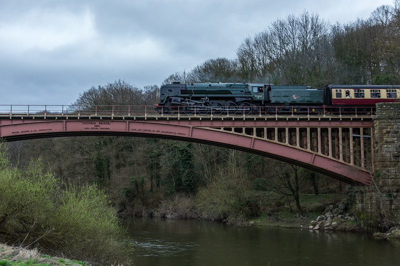 92214 BR Standard Class 9F - Severn Valley Railway (March 2017)
