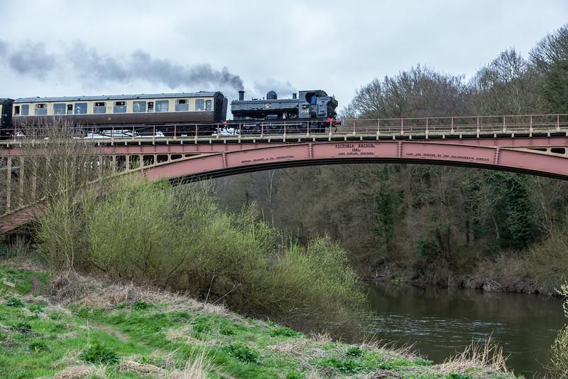 7714 GWR 5700 Class - Severn Valley Railway (March 2017)