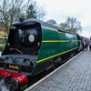 34081 92 Squadron - Southern Railway SR Battle of Britain Class  - Severn Valley Railway (March 2017)