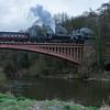 41312 LMS Ivatt Class 2 & 43106 LMS Ivatt Class 4 - Severn Valley Railway (March 2017)