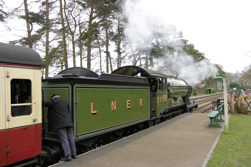 8572 LNER B12 Class - North Norfolk Railway (March 2014)