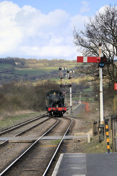5542 GWR Class 4475 - GWSR (March 2014)