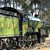 8572 LNER B12 Class - North Norfolk Railway (March 2014)