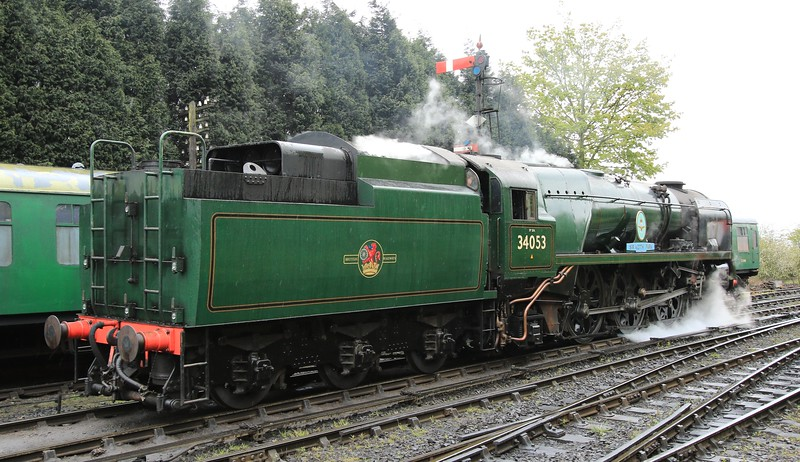 34053 Sir Keith Park - SR Battle of Britain Class - Severn Valley Railway (May 2016)