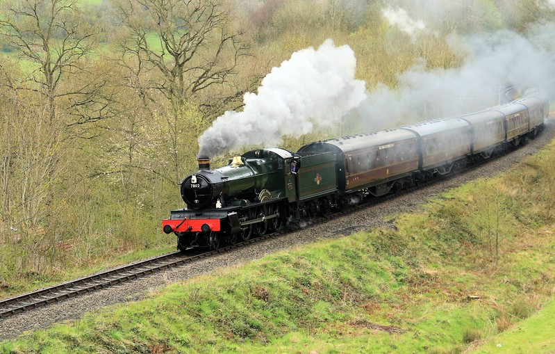 7802 Bradley Manor - GWR Manor Class - Severn Valley Railway (May 2016)