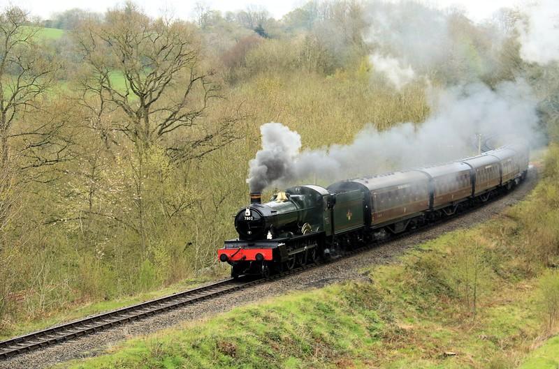 7802 Bradley Manor - GWR Manor Class - Severn Valley Railway (May 2016)