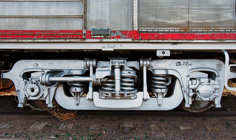 Rail Car Truck